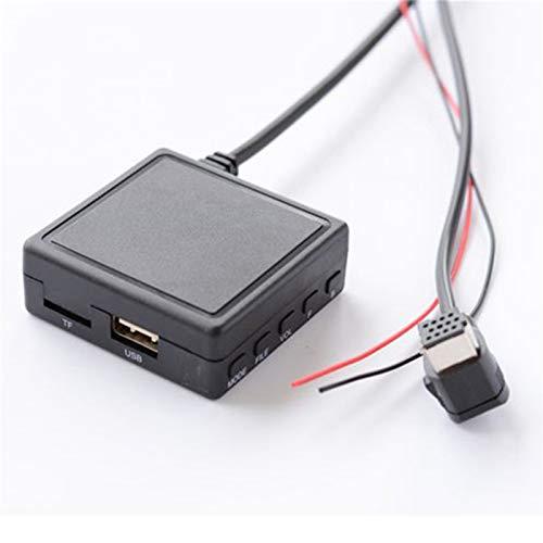 ZSYLOVE ZHANGSUYUAN Coche 5.0 AUX música USB Adaptador de Audio inalámbrico Cable de micrófono en Forma for el pionero de la Radio IP-Bus P01 P99