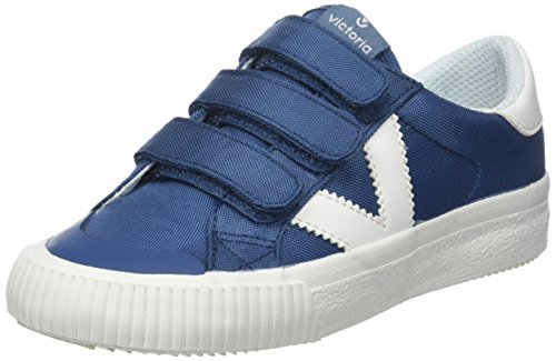 Victoria Deportivo Velcros Nylon, Zapatillas Unisex Niños, Azul, 32 EU