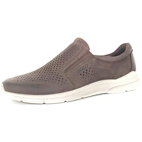 Ecco Herren IRVING Slip On Sneaker, Braun (Coffee 2072), 43 EU