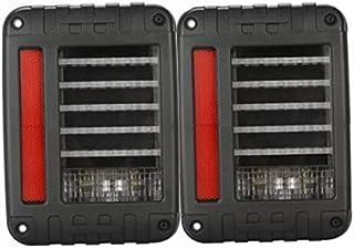Toby's LED Tail Lights Run Turn Brake Reverse Lamps for Jeep Wrangler