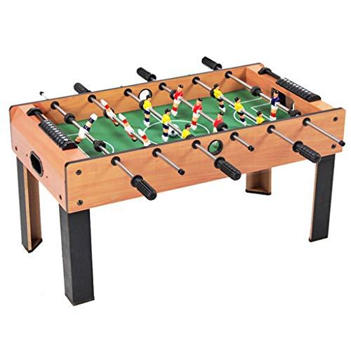 Erwachsener 6-Stab-Tischfußball Innenunterhaltungsfußballmaschine Holztischfußballspiel Brettspiel-Elternteil-Kindunterhaltungsspielzeug Puzzle 3-8 Jahre Alte Kinderspielzeug Tischfußball