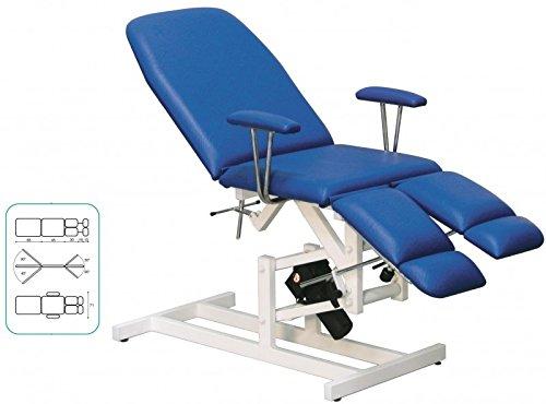 Untersuchungsstuhl, elektrisch, Liege, Patientenstuhl, Farbe Bezug:Nr. 68. maisgelb