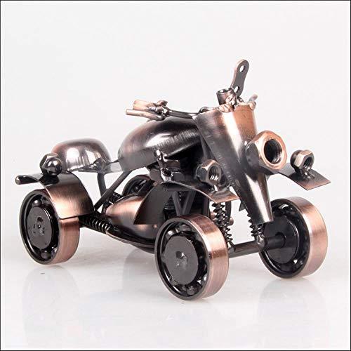 DGJEL Fashion Simple Classic Cars Décorations de Salon Technologie de  création Ornements de Jardin ameublement, Argent