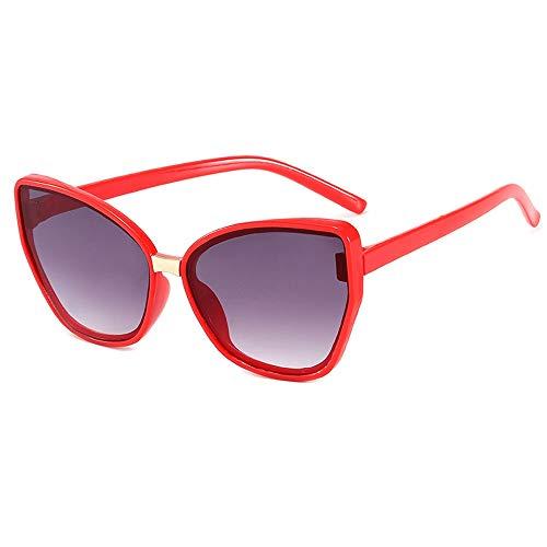 Gafas de sol polarizadas para niños con gafas de sombra, adecuadas para niños, niñas y niños de 3 a 10 años (color: rojo)