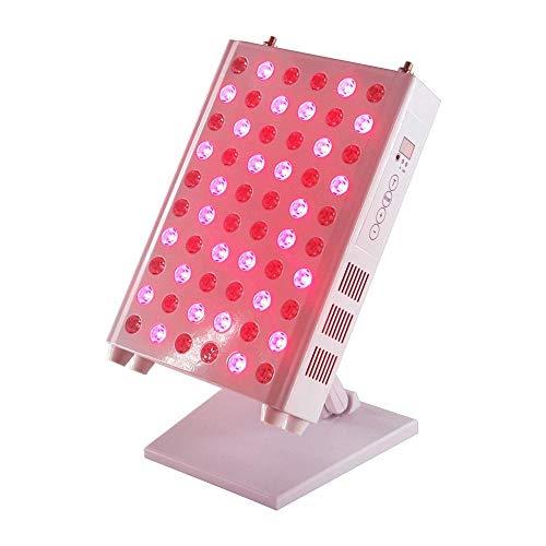 BTTHWR Rotlicht-Therapiegerät, 660&850 nm Nahinfrarot-Lichttherapie mit Led, klinischer Heimgebrauch Lichttherapielampe mit Timer für Anti-Aging, Schmerzlinderung
