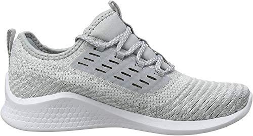 Asics Fuzetora Twist, Zapatillas de Running para Mujer, Gris (Mid Grey/White 020), 38 EU