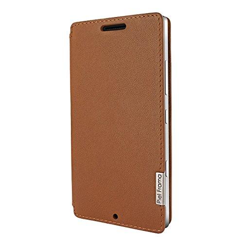 Piel Frama U702C FramaSlim-Custodia per Nokia Lumia 930, Colore: Marrone Chiaro