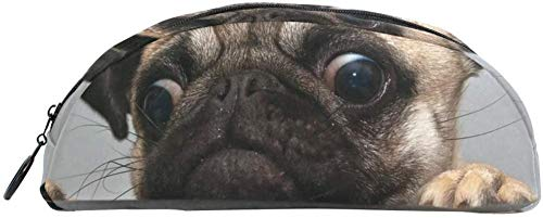 Coin Purse Greedy Dog Pug Biscuit Box Pencil case Bag Stationery Pencil case Box Cosmetic Bag Teen Girl boy Child