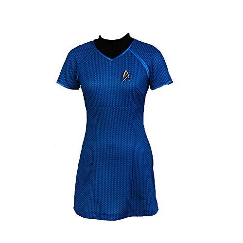 helymore Disfraz de Espacio Disfraz de Avion para Mujer Traje de Cosplay de Pelicula, Version 3 M