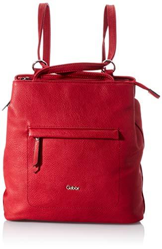 Gabor bags MINA Damen Rucksack M, red, 24,5x9x32