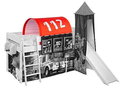 Lilokids Tunnel Feuerwehr - für Hochbett, Spielbett und Etagenbett