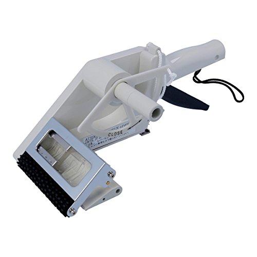 TE-Office Towa - Dispensador de etiquetas manual de plástico para etiquetas adhesivas manuales, 50 a 100 mm