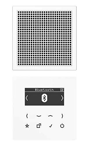 Smart Radio Dab + Bluetooth, Kit Mono S Ls Altavoz blanco Al