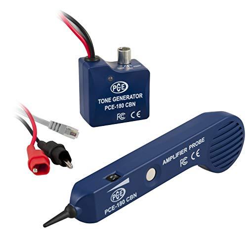 PCE Instruments Kabelfinder PCE-180 CBNfindet Anschlüsse und Unterbrechungen an Kabeln in Kabelkanälen