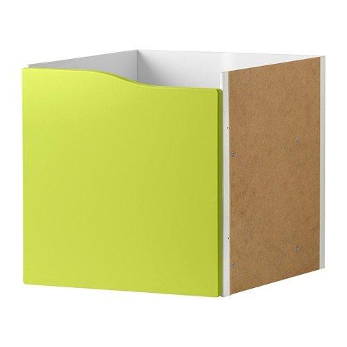 IKEA KALLAX Regal Einsatz mit Tür ohne Griff in grün; (33x33cm); passt zu EXPEDIT