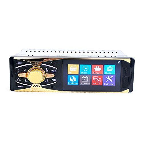 Boomboost Bluetooth Voiture Stéréo in-Dash Récepteur FM/AUX TF/USB MP4 Radio Mains Mains Libres