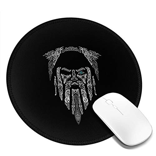 Eye of Odin ~ Mouse Pads Non-Slip Gaming Office Mouse Pad Round Mouse Pad