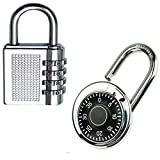 TUFFSTUFF Metal Luggage Locks (Set of 4) (Silver_TINY0001LK)