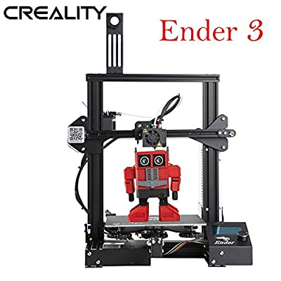 Creality Ender 3 3D Printer Aluminum DIY Kit with Resume Printing Function 220x220x250mm