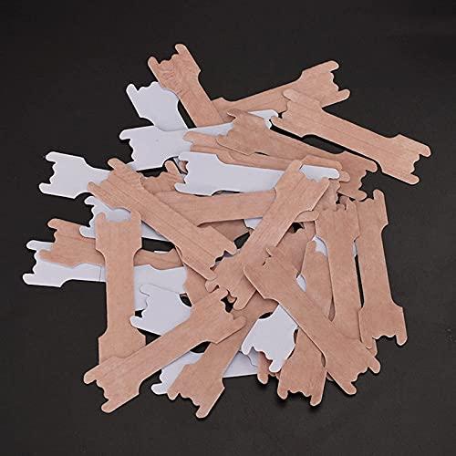 Parche De Congestión Nasal Desechable Tiras De Ayuda Respiratoria para Dejar De Roncar para Un Buen Sueño Tela Sintética No Tejida Tiras Nasales contra Ronquidos,6.6 * 1.9cm/2.59 * 0.74in