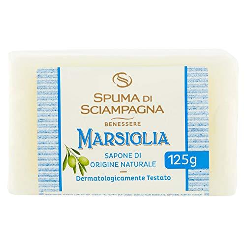 Preisvergleich Produktbild Spuma di Sciampagna Marsiglia Sapone di Origine Naturale 125 g