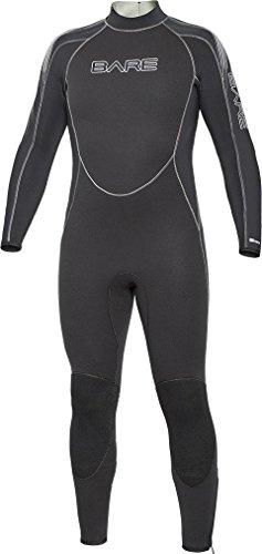 Bare 5mm Velocity Full Suit Men's Wetsuit Black, X-Large