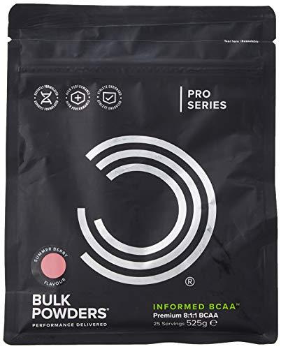 BULK POWDERS Informed BCAA Powder, Summer Berry, 525 g