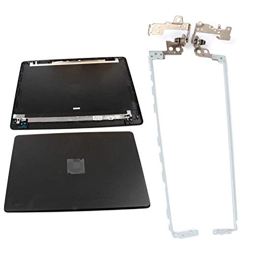 S-Union New Replacement LCD Back Cove and Left & Right Laptop Hinges Set for HP 15-BS015DX 15-BS020WM 15-BX0XX 15T-BS000 15-BW000 15T-BR 15T-BS 15Q-BU 15Z-BW 15.6