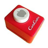 カール事務器 クラフトパンチ小 Apple CP-1 リンゴ 00906061 【まとめ買い5個セット】