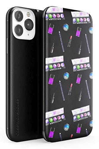Case Warehouse Lidschatten-Make-Up-Muster | ultradünne leichte Flip Wallet Bumper TPU-Schutzhülle...