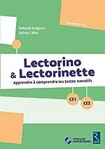 Lectorino & Lectorinette (+ CD-Rom) - CE1-CE2 de Sylvie Cèbe