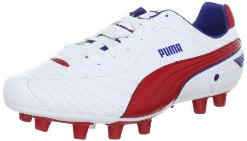 PUMA Esito Finale i FG 102008, Herren Sportschuhe - Fußball, Weiss (White-Ribbon red-Limoges 05), EU 40.5 (UK 7) (US 8)