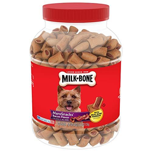 Milk-Bone MaroSnacks Dog Treats for Dogs, 40 Ounce Jar (Pack of 2)