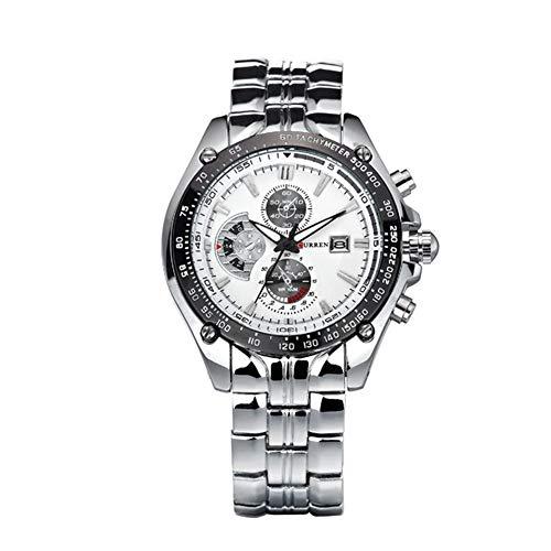 Nueva Curren Hombres de los Relojes de Lujo Hombre Militar Reloj de la Marca de Moda Relojes Impermeables de Acero Lleno
