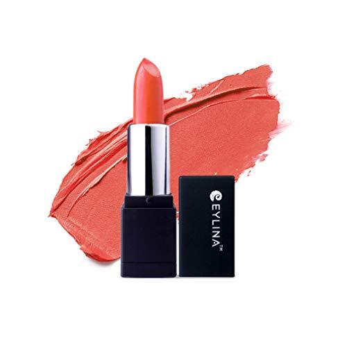 EYLINA Matte Lipstick, Coral Rose, 4g
