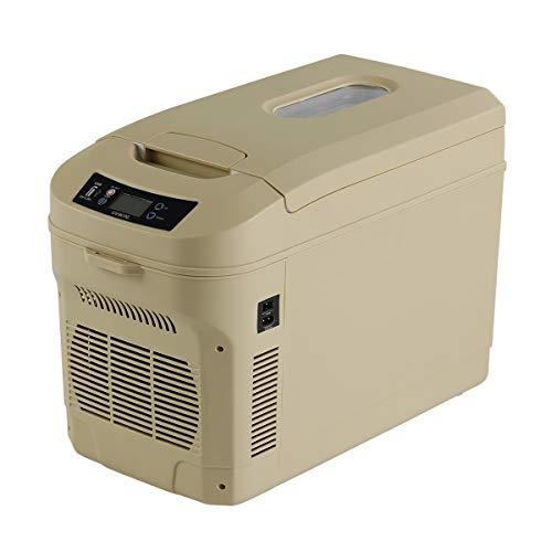 ICEBERG 車載冷蔵庫 22L ポータブル冷蔵庫 保冷 保温 0℃ 冷却 65℃ 加熱 コヨーテタン AQ22L-TN