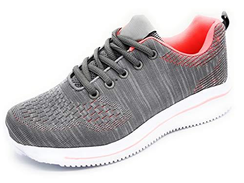 Zapatillas Deportivas para Mujer Muy Ligeras Transpirables de Malla para Correr Caminar Trabajar