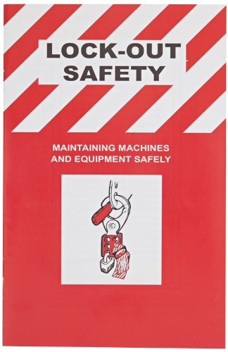 Brady Lockout Safety Training Booklet, English (Pack of 10)
