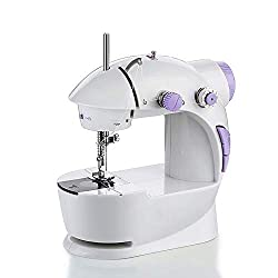 Qualimate Electric Desktop Functional Portable Sewing Machine Mini for Home Tailoring Stitching use, Mini Sewing Machines for Home, Hand Tailor Machine for Stitching, Silai Machine Mini.,Qualimate,sewing machines for home
