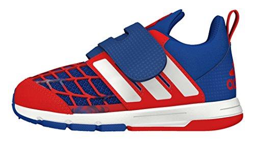 adidas Unisex Kinder Marvel Spider-Man CF I Sneaker, Azul (Reauni/Ftwbla/Rojint), 22 EU