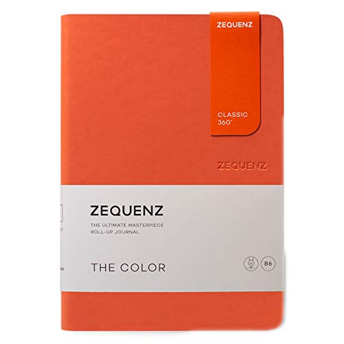 Zequenz Classic 360 The Color B6 Notebook, Dotted, Grenadier