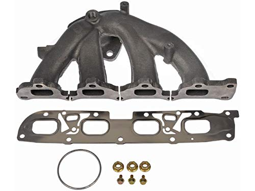 Exhaust Manifold - Compatible with 2010-2012 Chevy Equinox 2.4L 4-Cylinder