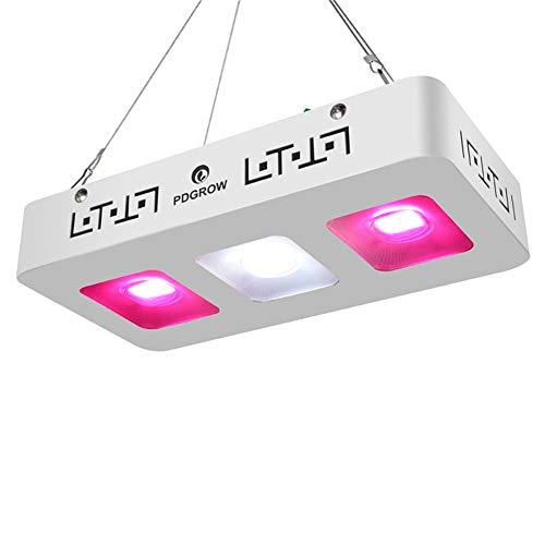 WQY COB LED Grow Light 300W Vollspektrum LED Plant Grow Lamp Panel Zimmerpflanzen All Stage Seedings Veg Bloom Lighting