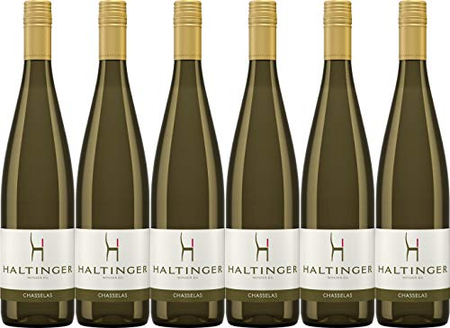 Haltinger Baden-Markgräflerland Chasselas Gutedel QbA 2015 Trocken (6 x 0.75 l)