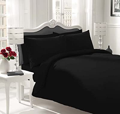 Sapphire collection 100% Egyptian Cotton 200 Thread Count Duvet Cover With Pillow Case Bedding Set by Sapphire collection
