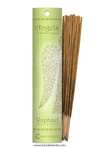 Fiore d 'oriente Anges de Raphaël Emballage en Vert, en Bambou, Multicolore, Lot de 10