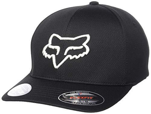 Fox Lithotype Flexfit Hat Black/Grey