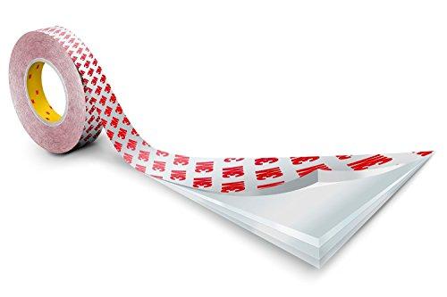 3M 7100018968 Cinta Adhesiva Doble Cara de Altas Prestaciones, 19 mm X 50 m, 12unidades