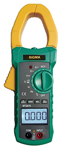 Sigma Instruments Digital Ac Clamp Meter 678, 1000 Amp with Calibration Certificate