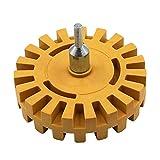 Baifeng - Rueda neumática para desgomar neumático de goma para pulir neumáticos